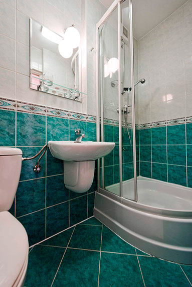 Apartament 2 pokojowy - łazienka - Sanatorium Uzdrowiskowe Róża