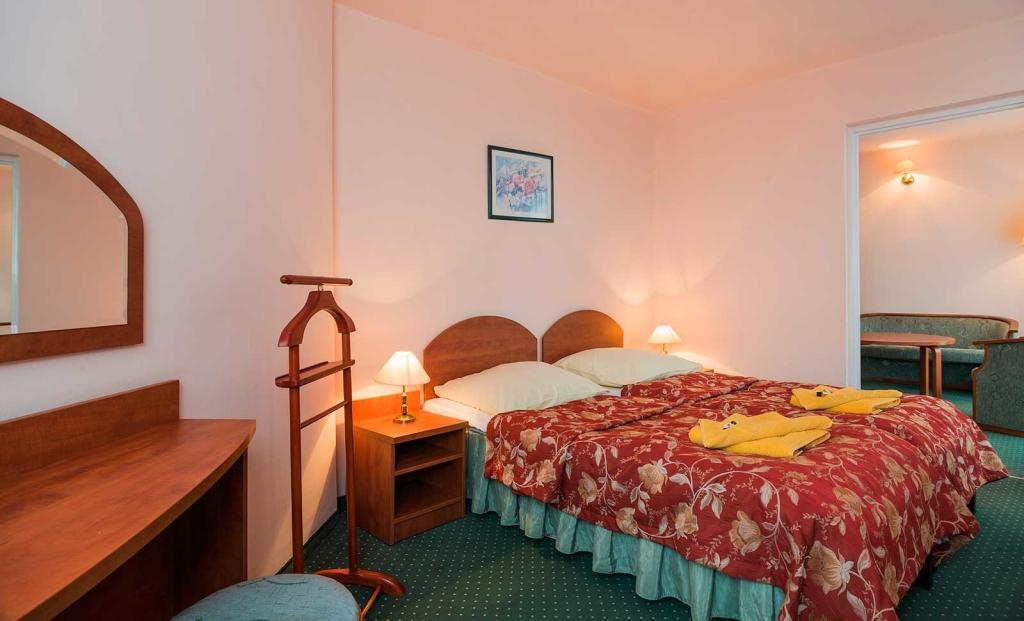 Apartament 3 pokojowy sypialnia - Sanatorium Uzdrowiskowe Róża